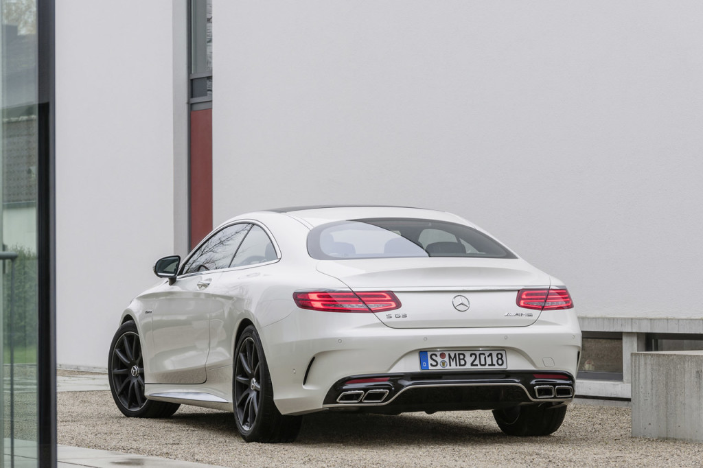 2014 Mercedes-Benz S63 AMG Coupé