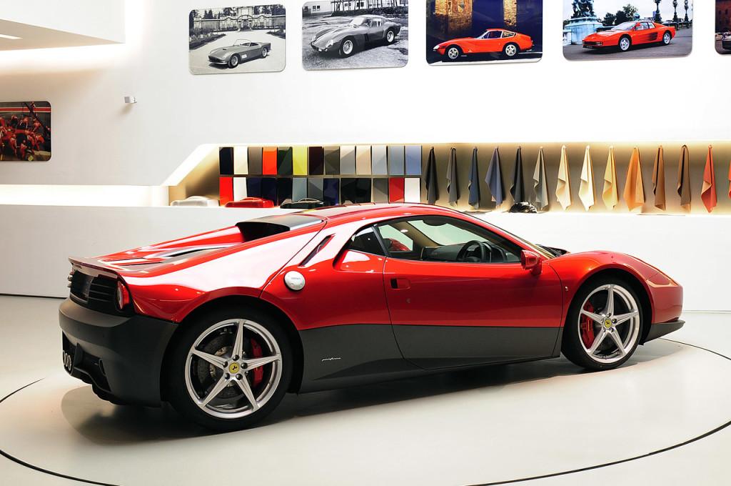 2011 Ferrari SP12 EC