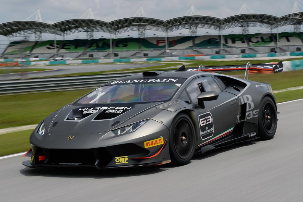 2014 Lamborghini Huracán Super Trofeo