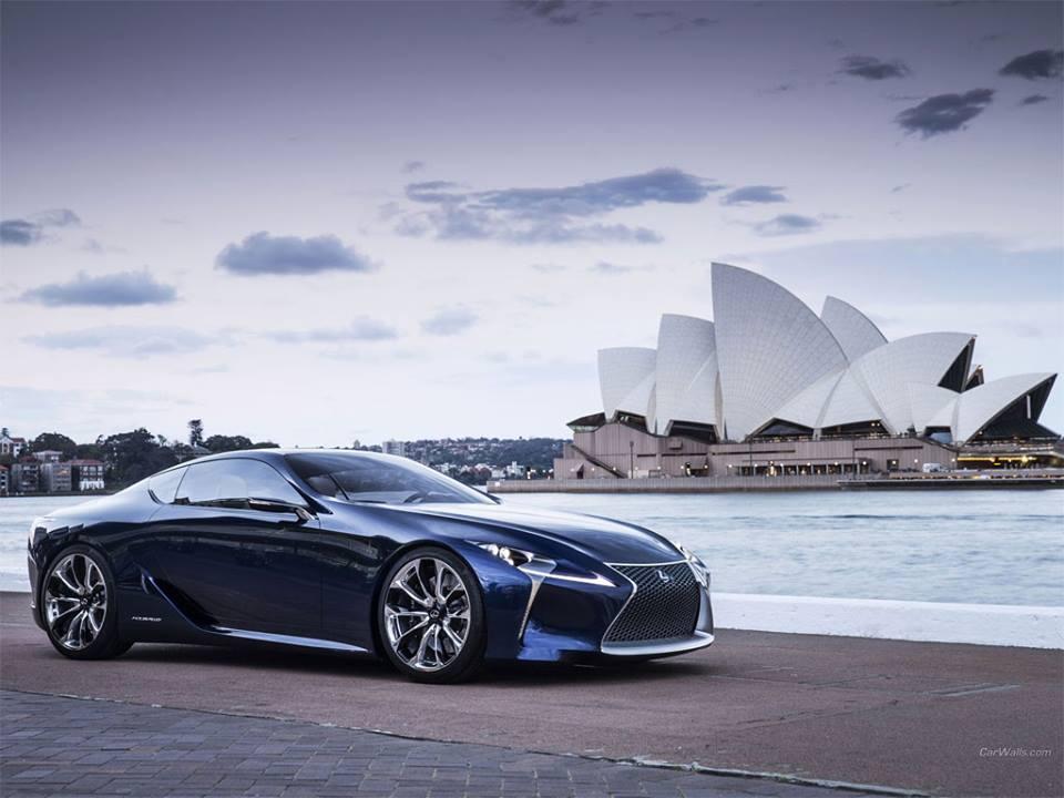 2012 Lexus LF-LC Concept - Supercars Index
