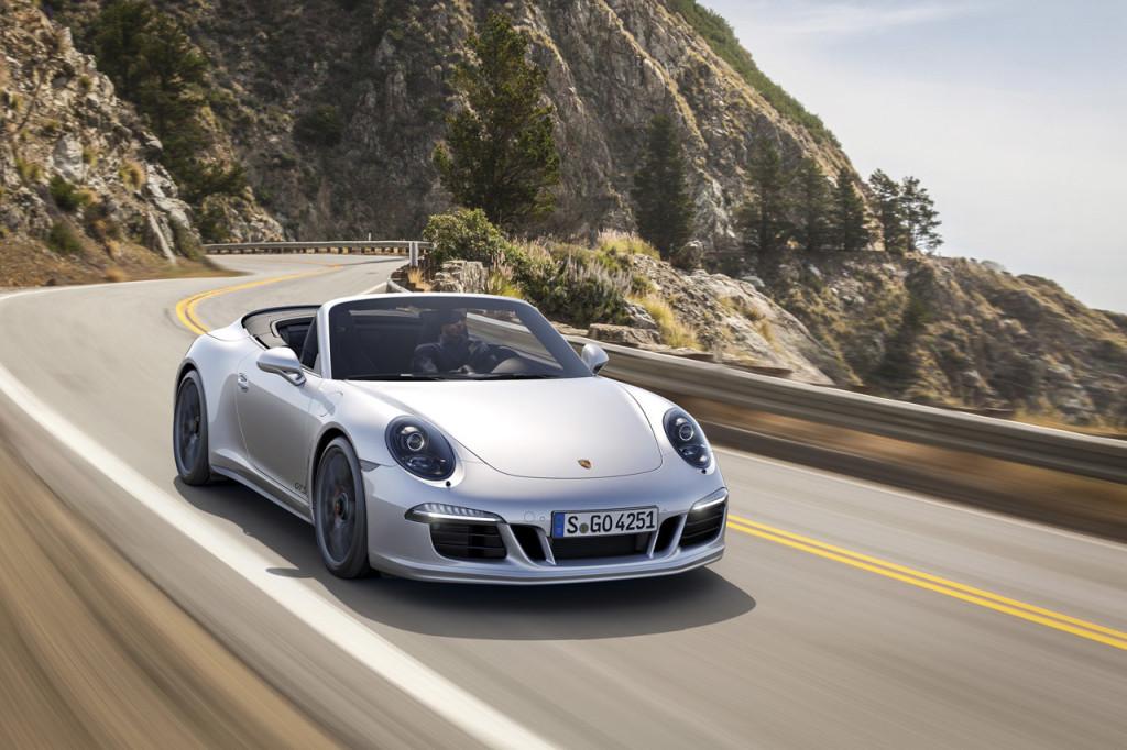 2014 Porsche 911 GTS Roadster