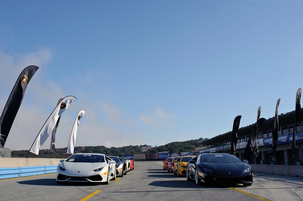 Lamborghini Accademia - Laguna Seca