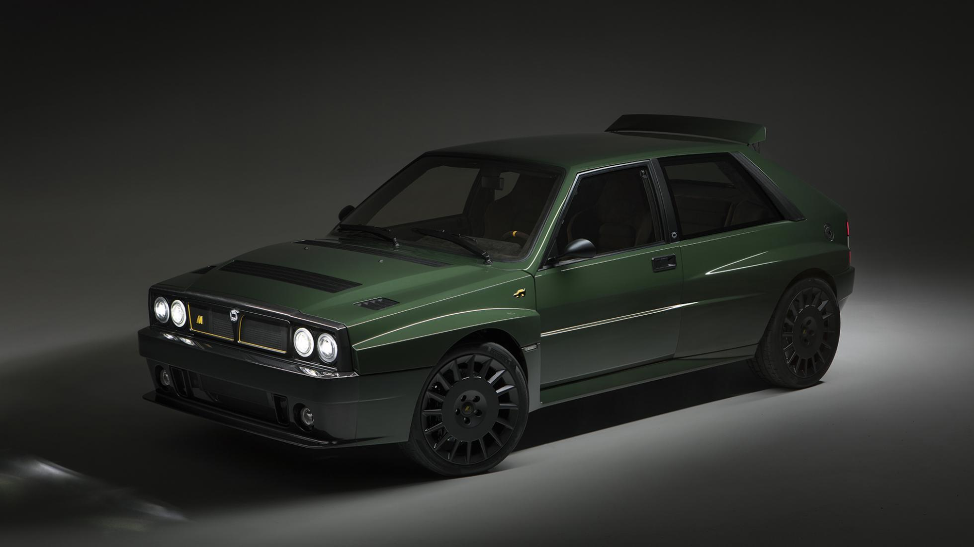 2018 Automobili Amos Lancia Delta Futurista