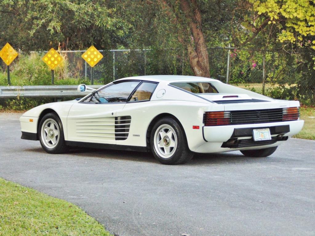 1986 Ferrari Testarossa - Miami Vice