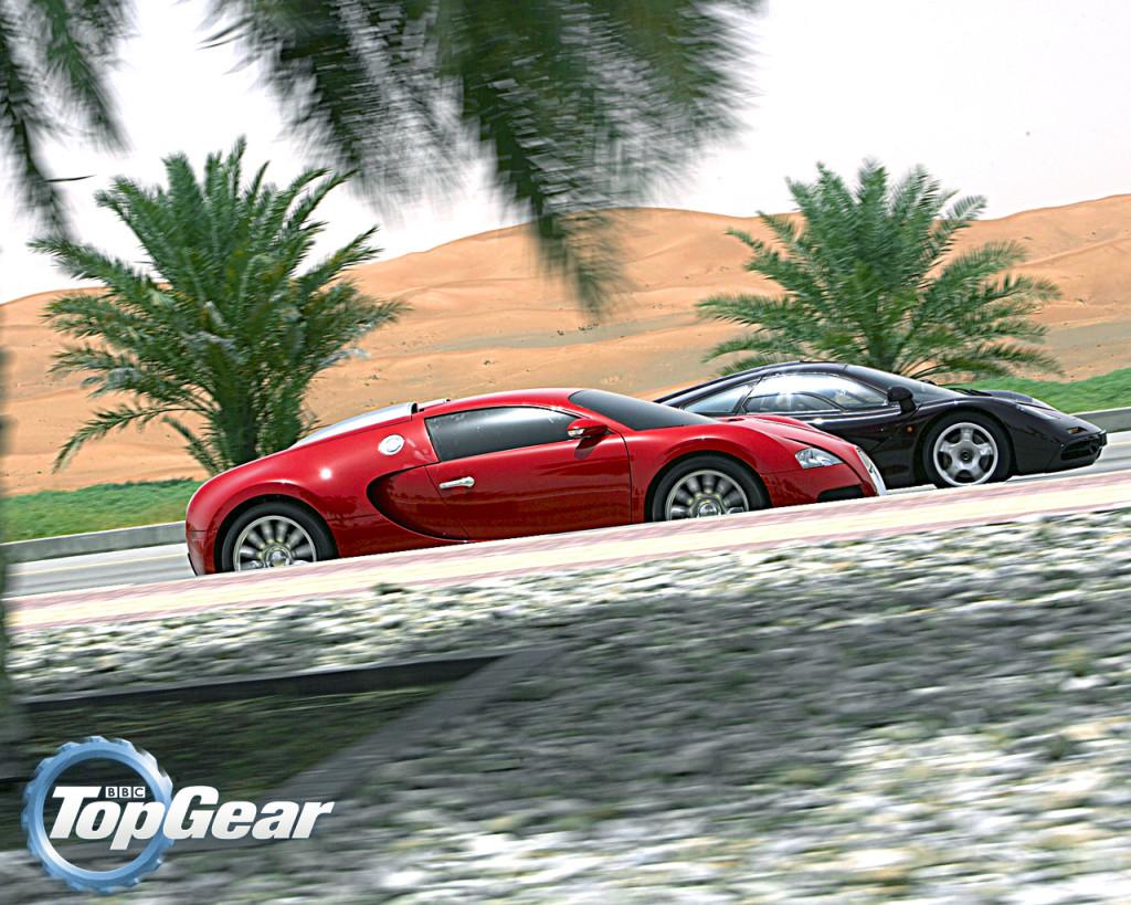 2005 Bugatti Veyron & 1992 McLaren F1